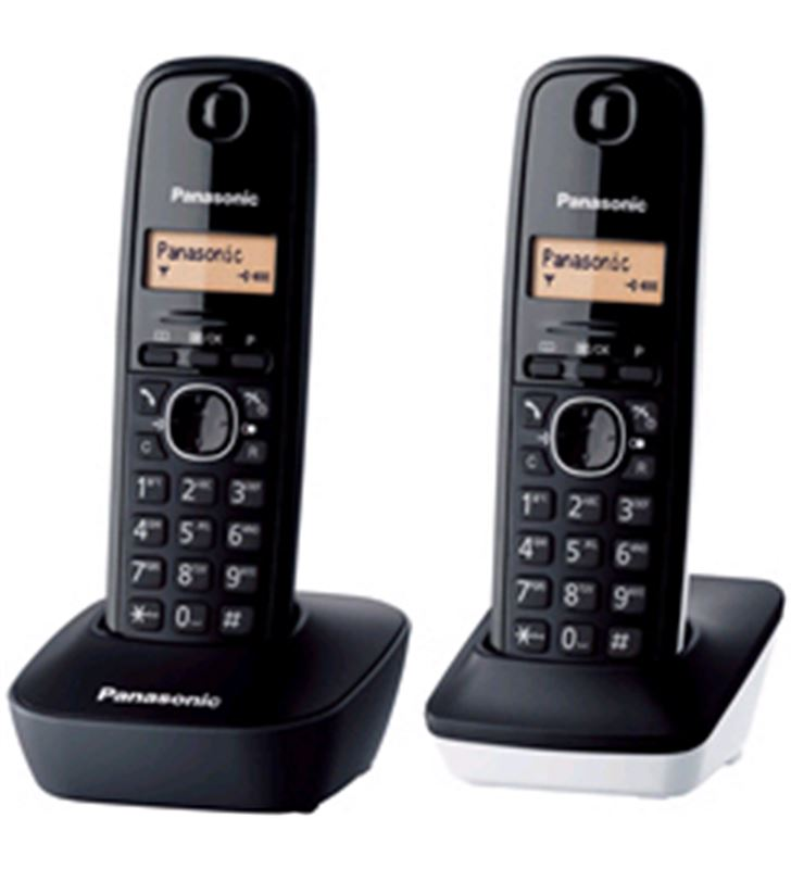 Telefono inal Panasonic kx-tg1612sp1 duo bl KXTG1612SP1 - KXTG1612SP1