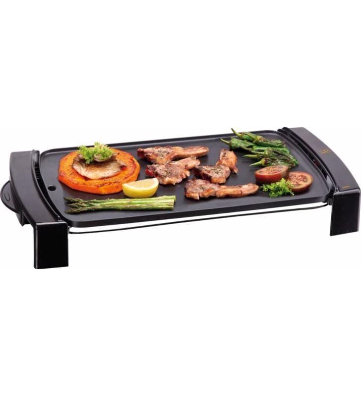 Plancha cocina Jata GR204N, 2000w, 45x25, antiade Barbacoas, grills planchas - GR204