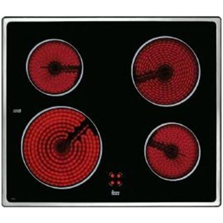 Teka placa vitro vtc b 4 quem 60cm marco inox 10204072 - 10204072