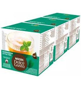 Nestle marrakesh tea dolce gusto 12212466, 16 capsulas.