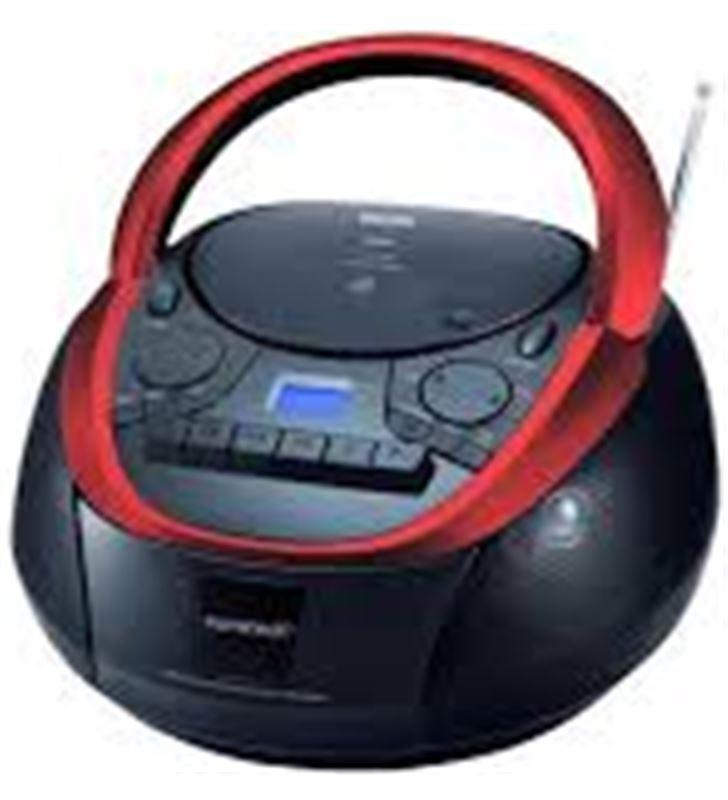 Radio cd Sunstech CXUM51RD con usb, mp3, cd, negro.. - CXUM51RD