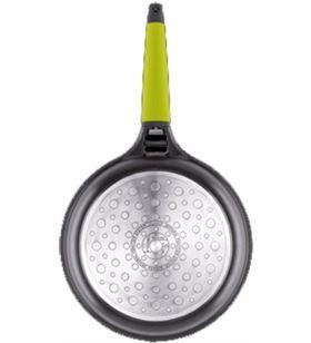 Sarten induccion Fundix f3-i22 22cm mango verde F3I22