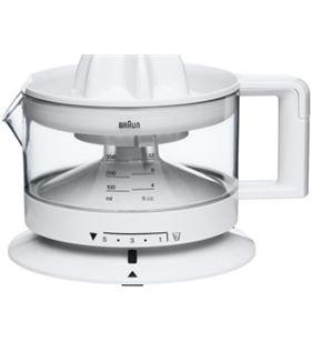 Braun exprimidor blanco. 350 ml, cant. pulpa regulable, cj3000 - CJ3000