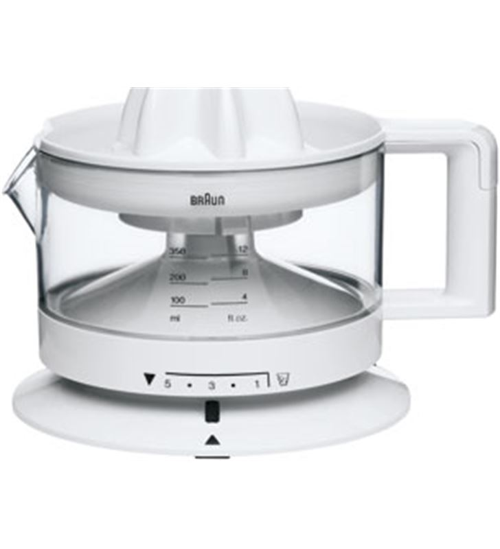 Braun exprimidor blanco. 350 ml, cant. pulpa regulable, cj3000 - CJ3000