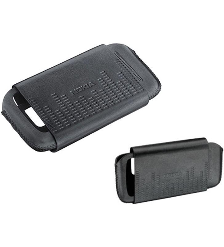 Nokia funda negra horiz 5800/5230 Nokia NOCP361 Accesorios de telefonía - 6907384016815