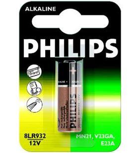 Pilas alcalines Philips 12v 8lr932/01b ( 1-blister - 8711500812681