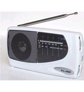 Radio Elbe rf 52 sob portatil blanca rf52sob