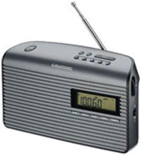 Radio portatil Grundig GRN1410 music61, negro Radio