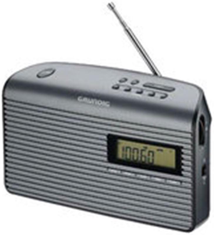Grundig GRN1410 radio portatil music61, negro Radio - GRN1410