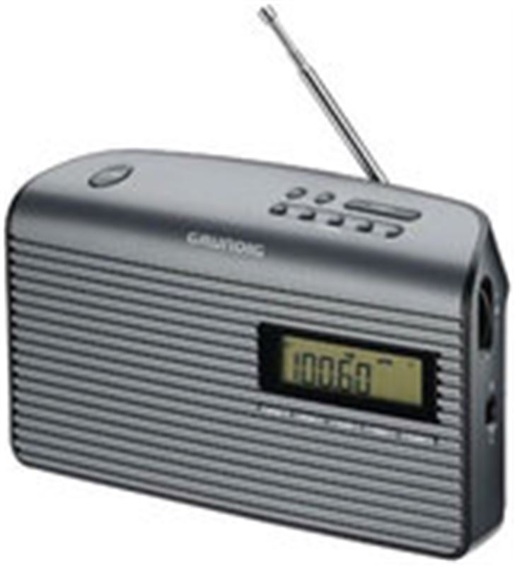 Radio portatil Grundig GRN1410 music61, negro Radio - GRN1410
