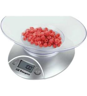 Balanza cocina Orbegozo PC1009, 5kg, analogica, bl - PC1009