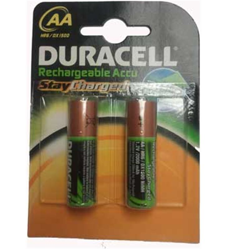Pilas rec Duracell aa (lr06) b2 stay charge AA(LR06)B2-SC - 500039420384