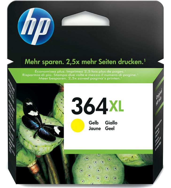 Cartucho tinta Hp nº 364xl amarillo CB325EE Fax digital y cartuchos de tinta - CB325EE