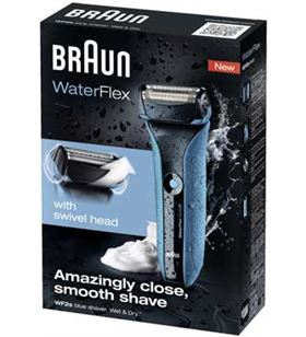 Braun afeitadora waterflex blue waterflexblue