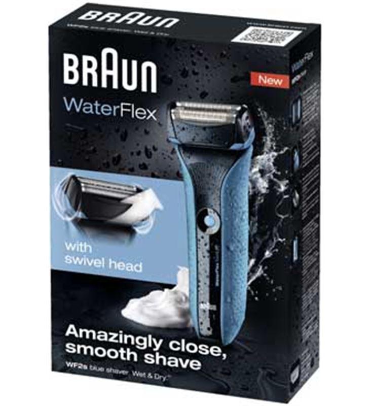 Braun afeitadora waterflex blue PACKWATERFLEXB barbero & afeitadoras - 4210201094999