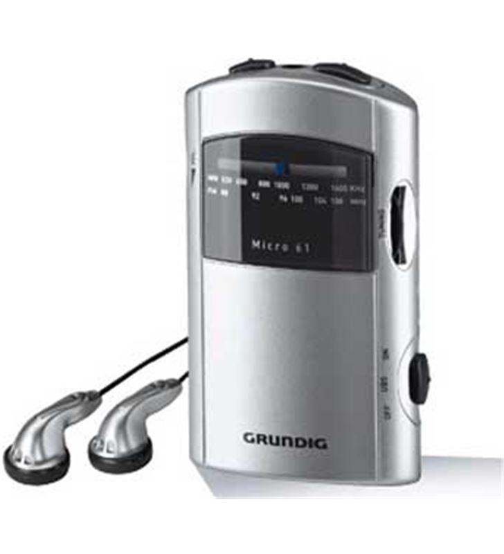 Radio portatil Grundig GRR1991 micro61 silver/grey - GR1991