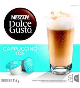 Nestle cafe capuccino .ice. dolce gusto 12120395, 16 cap