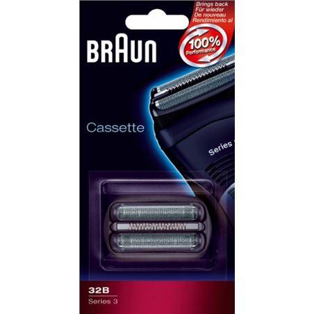 Lamina+cuchilla Braun apta afeitadora nueva serie3 BRAPACK32B - CASSETTE32B