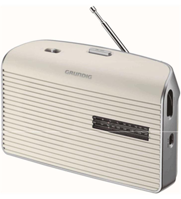 Radio portatil Grundig GRN1520 music 60 blanca Radio - 4013833873839