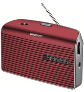 Radio portatil Grundig GRN1540 music 60 roja Radio