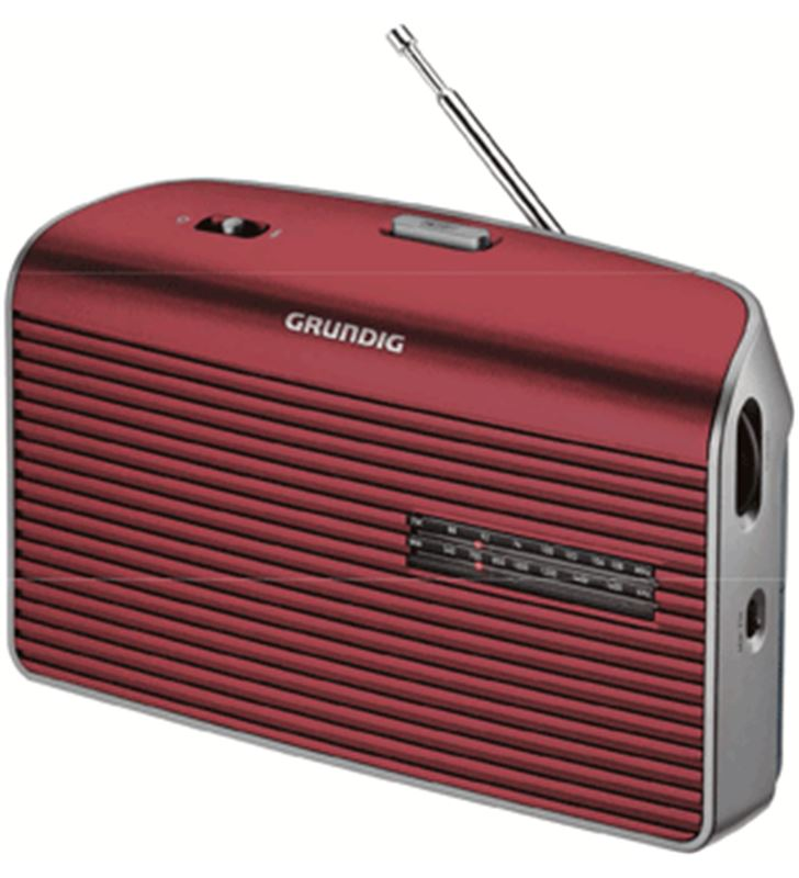 Radio portatil Grundig GRN1540 music 60 roja Radio - 4013833873853