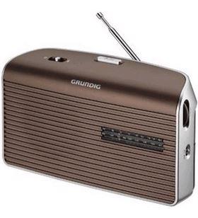 Grundig GRN1550 radio portatil music 60 mocca Radio - 4013833873860