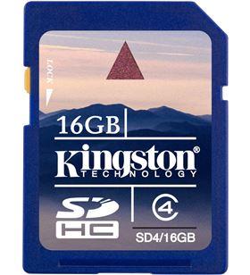 Kingston sd4 16gb -tarjeta de memoria flash - 16g. SDK16GJ