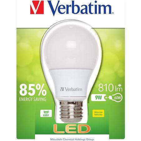 Verbatim bombilla led verbatin 52601 classic a e27 9w - 0023942526018