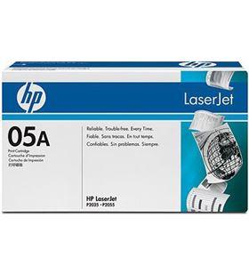 Cartucho tinta de toner Hp nº 05a negro CE505A Fax digital cartuchos - CE505A