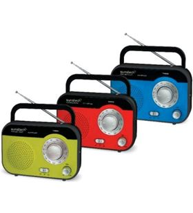 Radio de sobremesa Sunstech RPS560RD Radio - 8429015014826