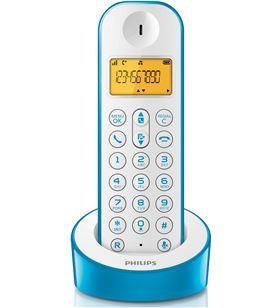 Philips telefono D1201WA23, dect, azul