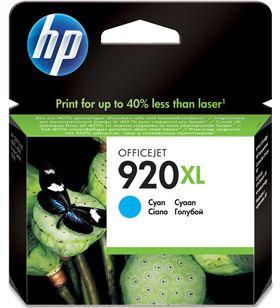 Cartucho tinta Hp 920xl cian CD972AE Fax digital cartuchos - CD972AE