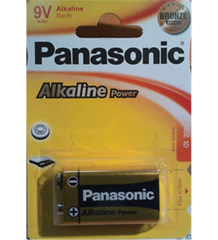 Pilas alcalinas Panasonic 9v 6lr61 ap ( 1-blist PAN9V - 5410853039303