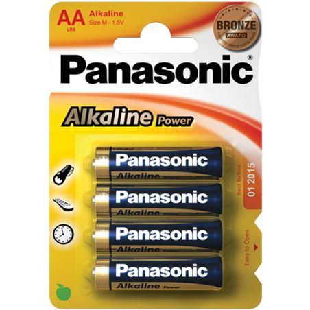 Pilas alcalinas Panasonic 1.5v lr6 ap ( 4-blis PANLR06_4 - LR6 AP