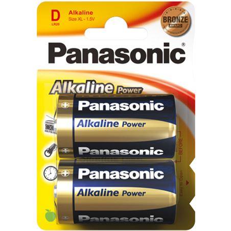 Pilas alcalinas Panasonic 1.5v lr20 ap ( 2-blis PANLR20_2 - LR20 AP