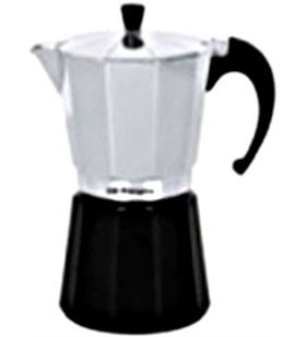 Cafetera aluminio Orbegozo kfm630, 6 tazas, utili