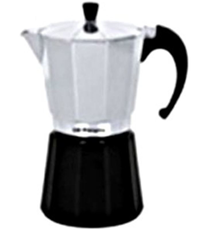 Cafetera aluminio Orbegozo KFM630, 6 tazas, utili Cafeteras - KFM630