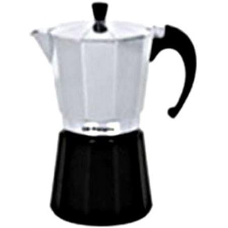 Cafetera aluminio Orbegozo KFM930, 9 tazas, utili Cafeteras - KFM930
