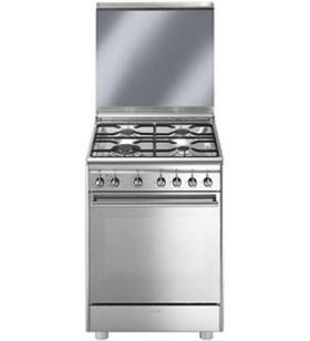Smeg cocina convencional cx68m81 inox cx68m8_1