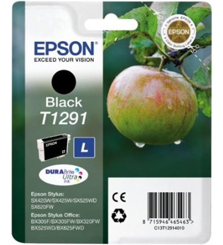Cartucho tinta Epson C13T12914011 negro (manzana) Fax digital y cartuchos de tinta - C13T12914011