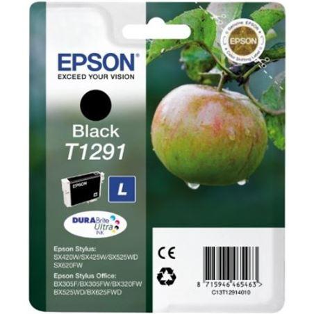 Cartucho tinta Epson C13T12914011 negro (manzana) Fax digital cartuchos - C13T12914011