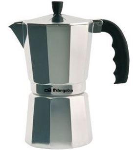 Orbegozo cafetera inox KF300, 3 tazas, aluminio