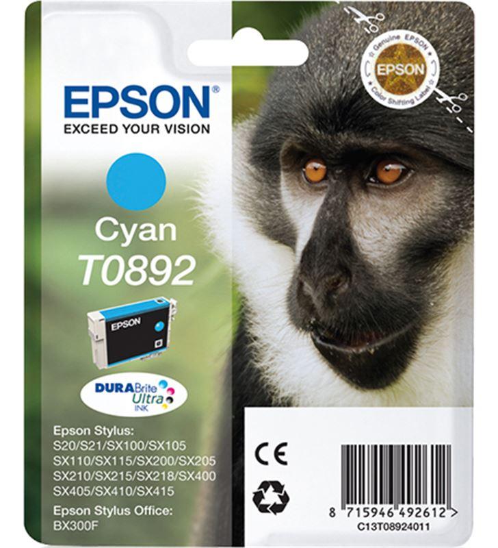 Cartucho tinta Epson C13T08924011 cian Fax digital y cartuchos de tinta - C13T08924011