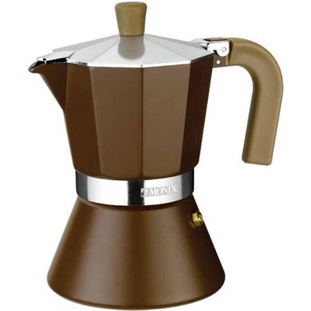 -Monix cafetera inducción 12 tazas, modelo cream M670012 - M670012