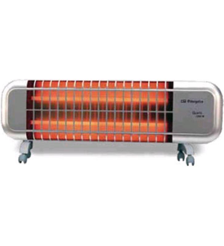 Radiador cuarzo Orbegozo bpm0105, 1200w, 2 tubos, 8436011055852 - 8436011055852