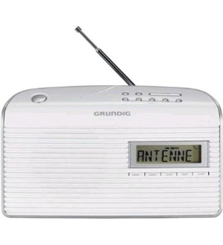 Radio portatil Grundig GRN1400 music61, blanco Radio - 4013833623991