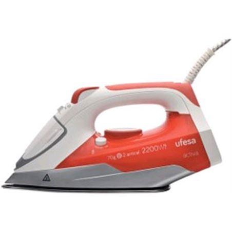 Plancha vapor Ufesa pv1000 2200w roja UFEPV1000 Planchas - 8412897676572