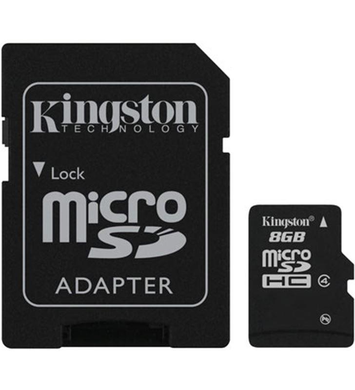 Kingston tarjeta memoria micro sd 8gb 07153430 Memorias de ordenador USB - SDC48GB