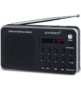 Sunstech radio portatil digital rpds32sl, plata Radio