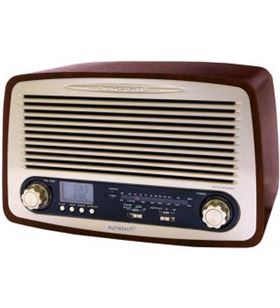 Sunstech radio madera retro RPR4000WD